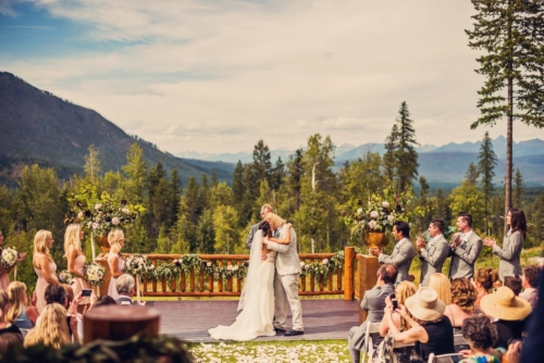 glacier national park wedding venues